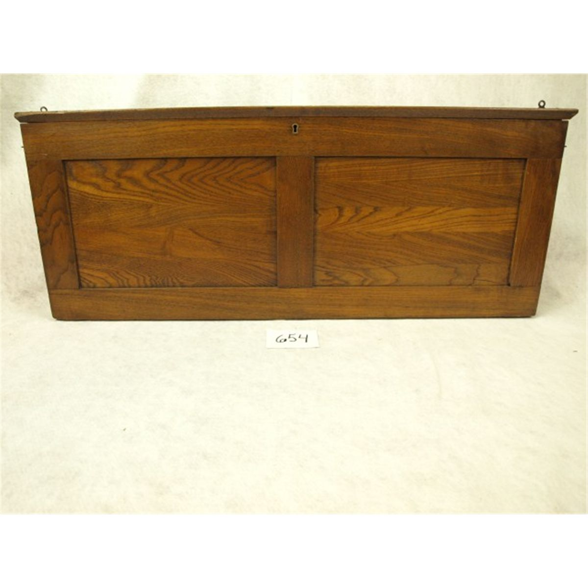 Antique oak cased map set with 8 pull down maps