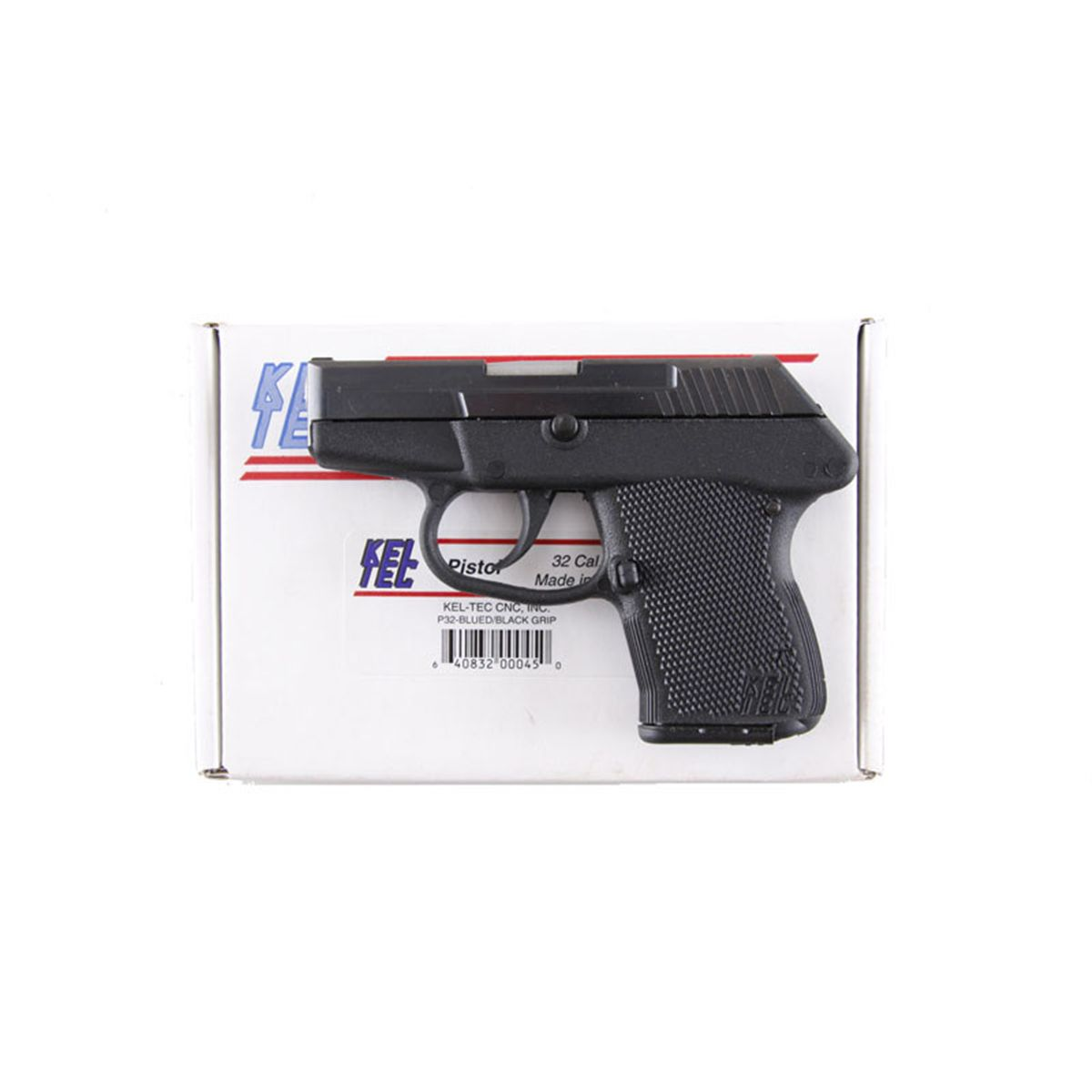 Kel Tec P32 Cal  32acp SN:CHA66 Double action only (DAO