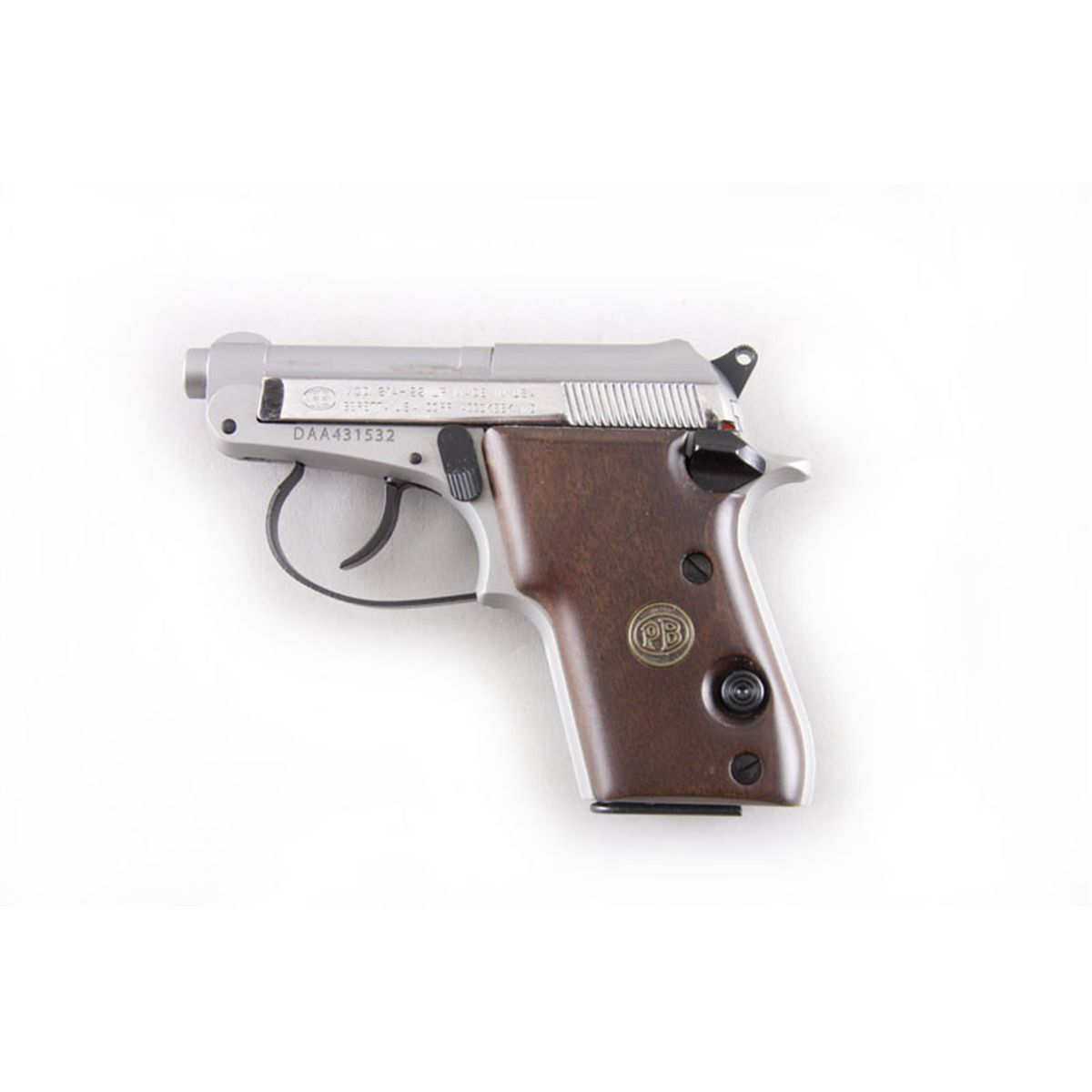 Beretta 21A Bobcat Cal  22LR SN:DAA431532 Double action semi