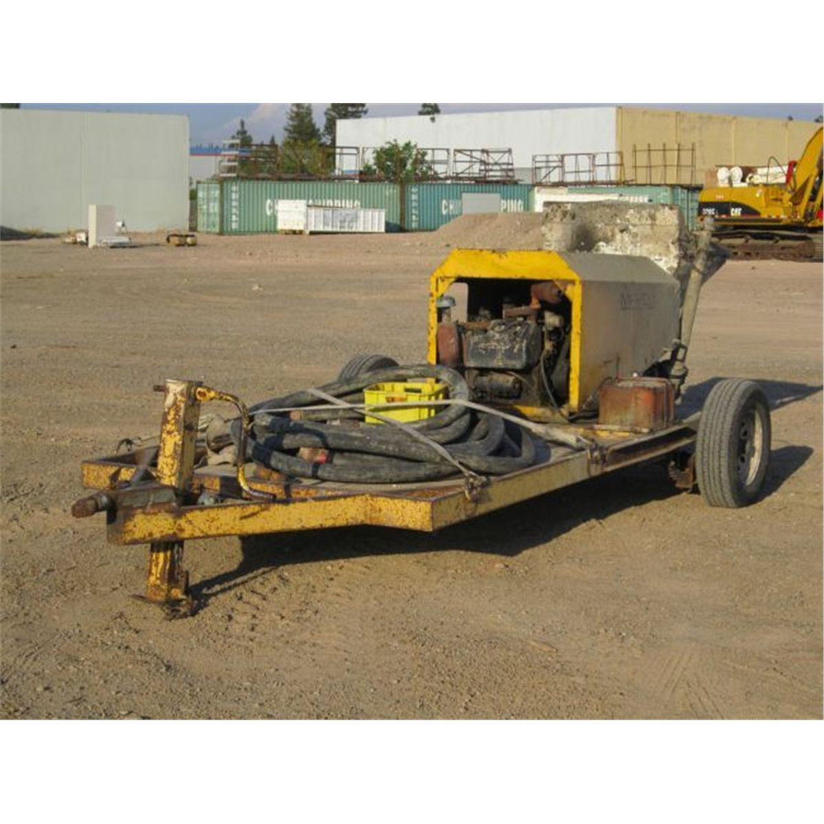 Mayco C-30HD Concrete Pump Trailer