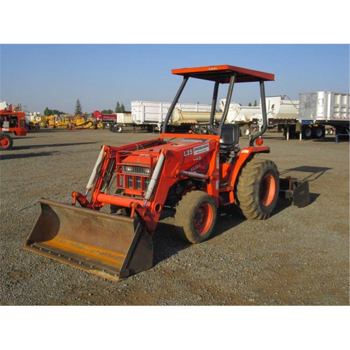 2006 Kubota L35 4x4 Ag  Tractor