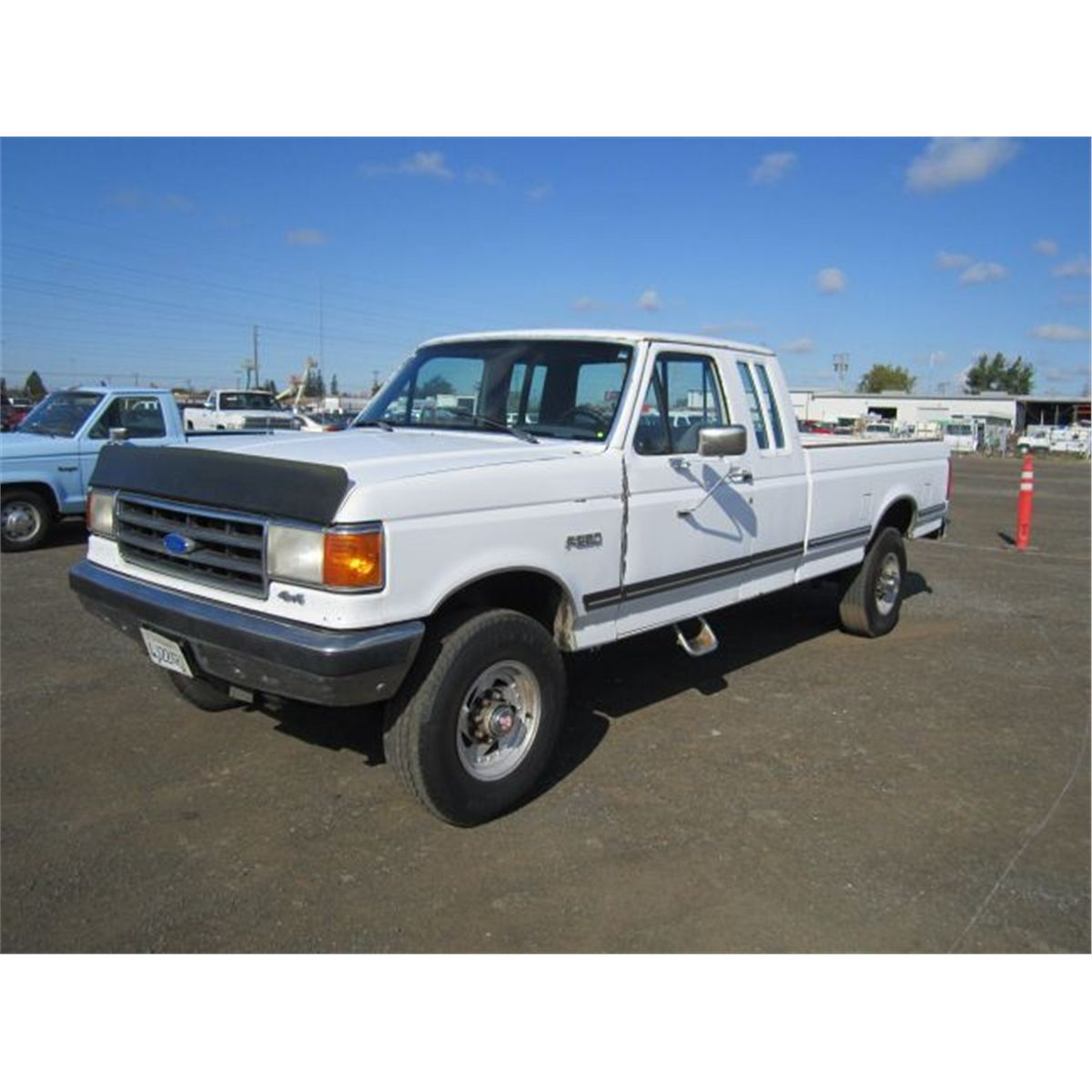 1989 ford f250 towing specs