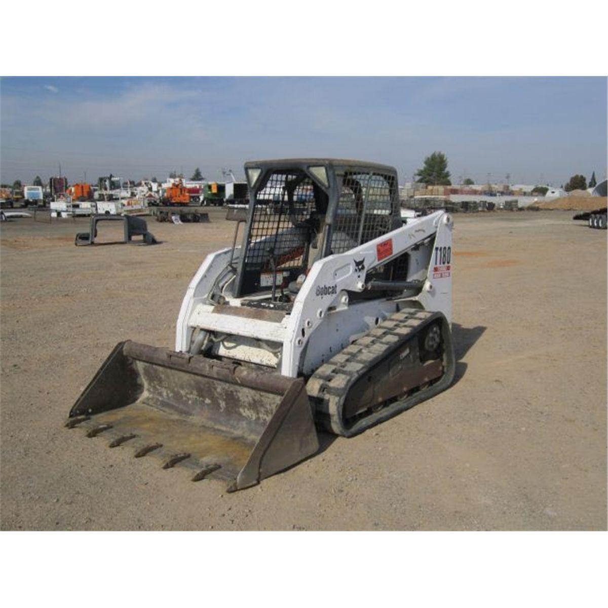 2004 Bobcat T180 Track Skid Steer Loader