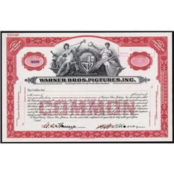 Warner Bros. Pictures, Inc. Specimen Stock.