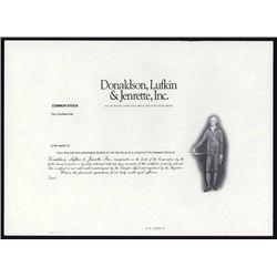 Donaldson, Lufkin & Jenrette, Inc. Rare Broker Proof Stock.