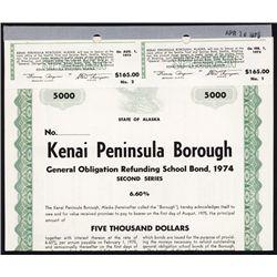 Kenai Peninsula Borough Specimen Bond.