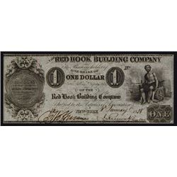 Red Hook Building Company Stock Certificate-Obsolete Look-A-Like.