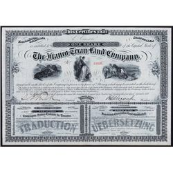 Franco-Texan Land Co. English & French Stock.
