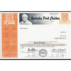 "Kentucky Fried Chicken ""KFC "" Corporation Specimen Stock."