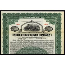 Punta Alegre Sugar Co. Specimen Bond.