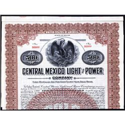 Central Mexico Light and Power Specimen Bond.