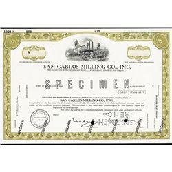 San Carlos Milling Co., Inc.