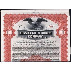 Alaska Gold Mines Co. Bond.