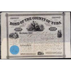 Bond Of The Country Of Yuba, California.