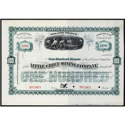 Little Chief Mining Co., Fryer Hill, Leadville Specimen.