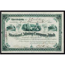 Stormont Mining Co. of Utah
