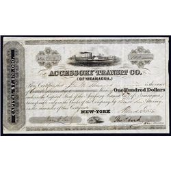 Accessory Transit Co. Stock Certificate.