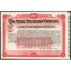 Steel Steamship Co. Specimen Bond.