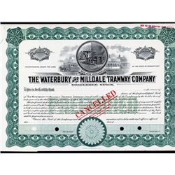 Waterbury & Milldale Tramway Co. Specimen Stock.