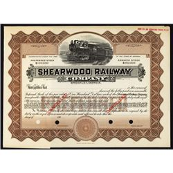 Shearwood Railway Co. Specimen Stock.