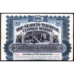 The St.Louis Terminal Cupples Station and Property Co.Specimen Bond.