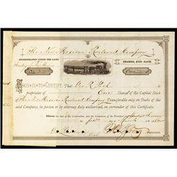 New Mexican Railroad Company Stock Certificate