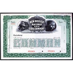New Mexico Railway and Coal Company.