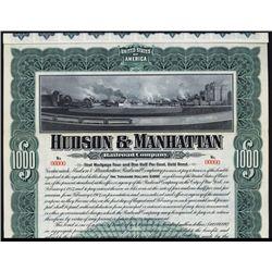 Hudson & Manhattan Railroad Company Specimen Bond.
