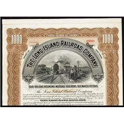 Long Island Railroad Co. Specimen Bond.