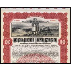 Niagara Junction Railway Co. Specimen Bond.