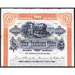 Northern Ohio Railway Co. Specimen Bond.