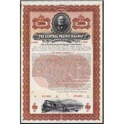 Central Pacific Railway Specimen Bond.