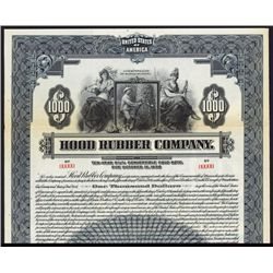 Hood Rubber Co. Specimen Bond.