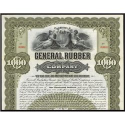 General Rubber Co. Specimen Bond.