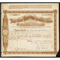 New York Taxicab Co. Ltd, English Stock Issue for American Company.