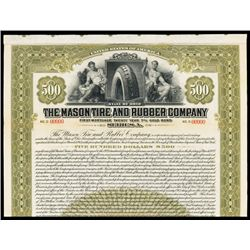 Mason Tire & Rubber Co. Specimen Bond.