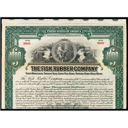 Fisk Rubber Co. Specimen Bond.