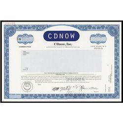 CDNOW Specimen Stock.