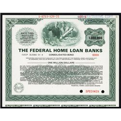 Federal Home Loan Banks Consolidated Bond.