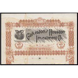 Galveston & Houston Investment Co.