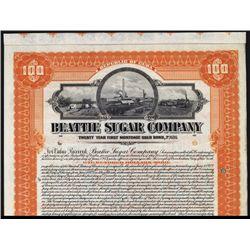 Beattie Sugar Co. Specimen Bond.