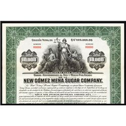 New Gomez Mena Sugar Co. Specimen Bond.