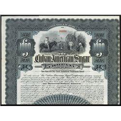 Cuban -American Sugar Co. Specimen Bond.