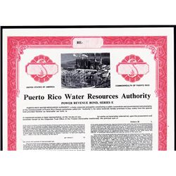 Puerto Rico Water Resources Authority Bond.