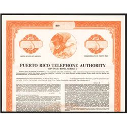 Puerto Rico Telephone Authority, Specimen Bond.