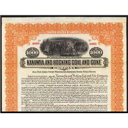 Kanawha & Hocking Coal & Coke Co. Specimen Bond.