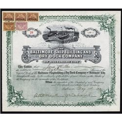 Baltimore Shipbuilding and Dry Dock Co. Shares.
