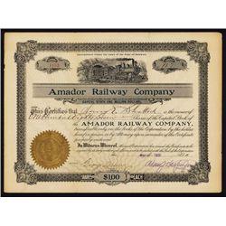 Amador Railway Co.