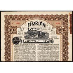 Florida Railway Co. Bond Group.