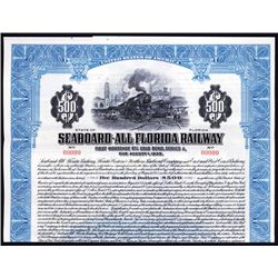 Seaboard-All Florida Railway Specimen Bond.